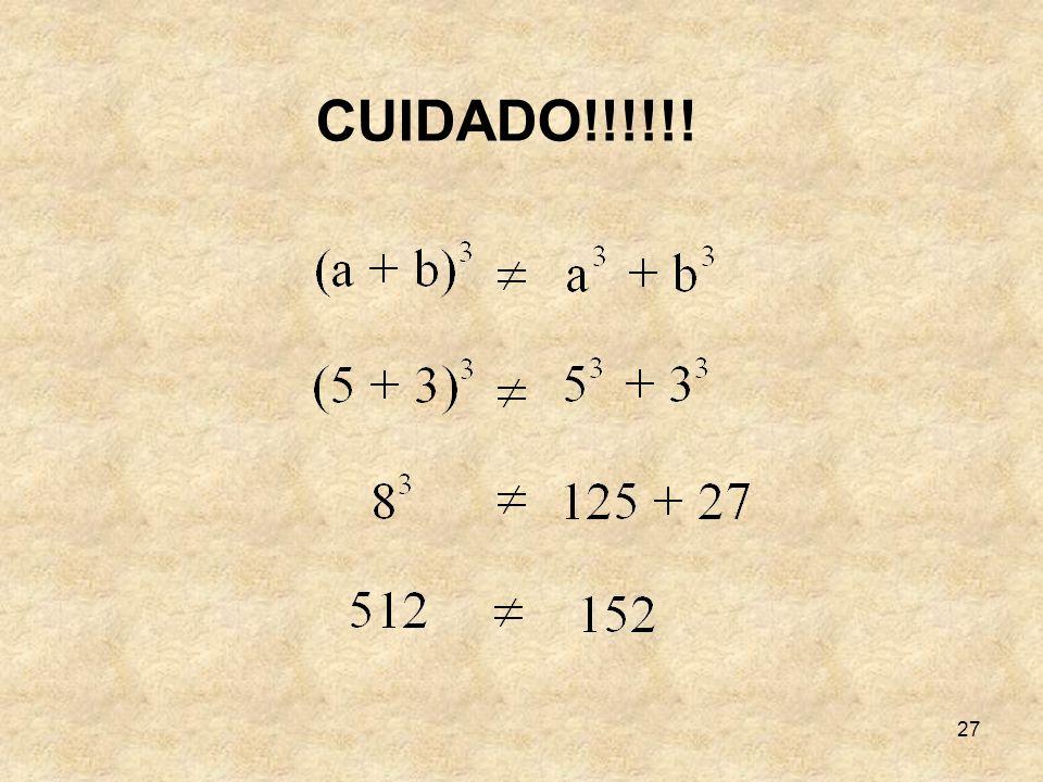 27 CUIDADO!!!!!!