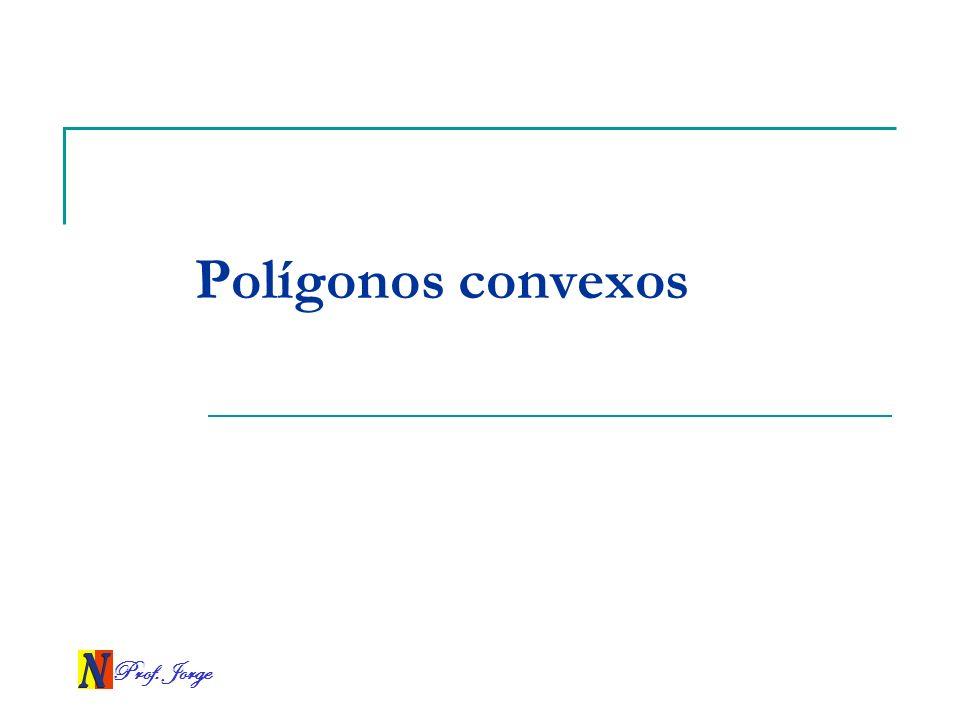 Prof. Jorge Polígonos convexos