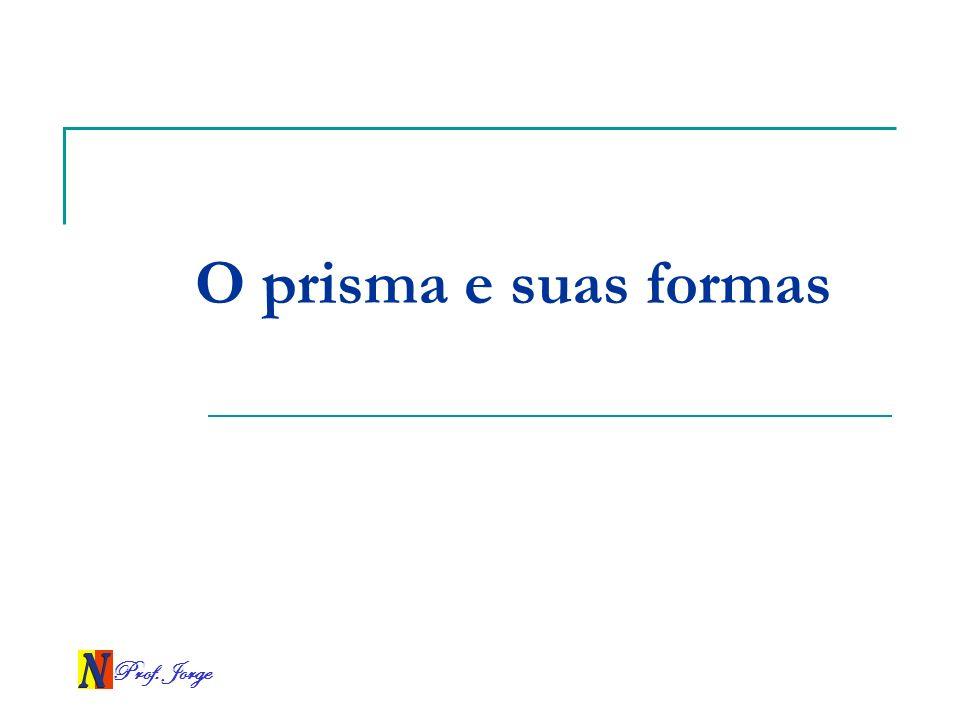 Prof. Jorge O prisma e suas formas
