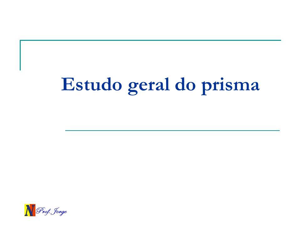 Prof. Jorge Estudo geral do prisma