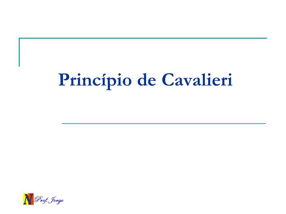 Prof. Jorge Princípio de Cavalieri
