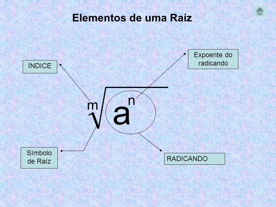 _ _ O que significa a Raíz.(-5,3) 3 = Obs: O Índice 2 não se escreve.