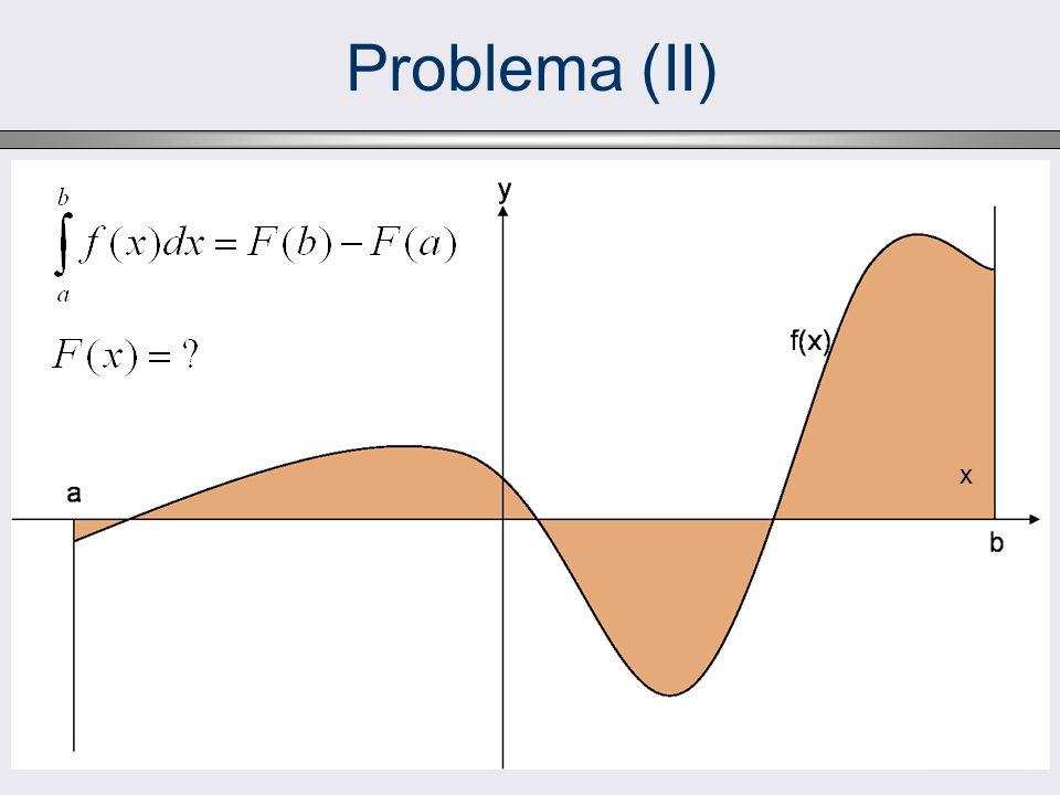 Problema (II) x