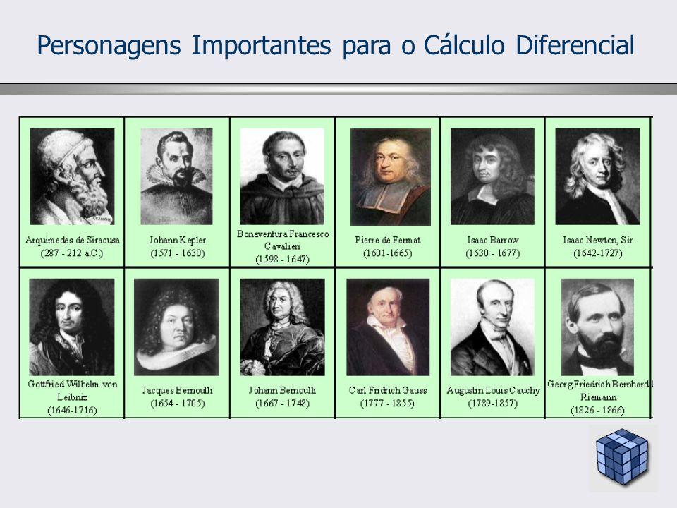 Personagens Importantes para o Cálculo Diferencial