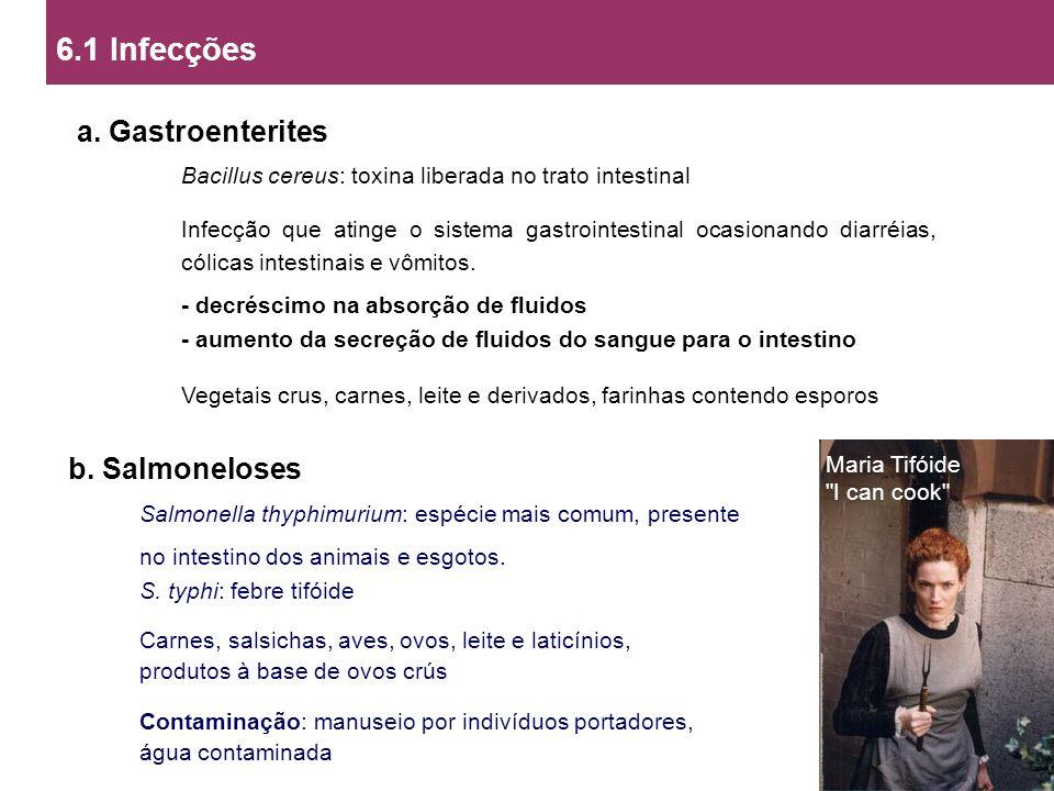 6.1 Infecções a.