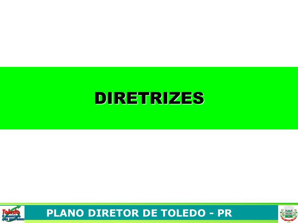 PLANO DIRETOR DE TOLEDO - PR DIRETRIZES