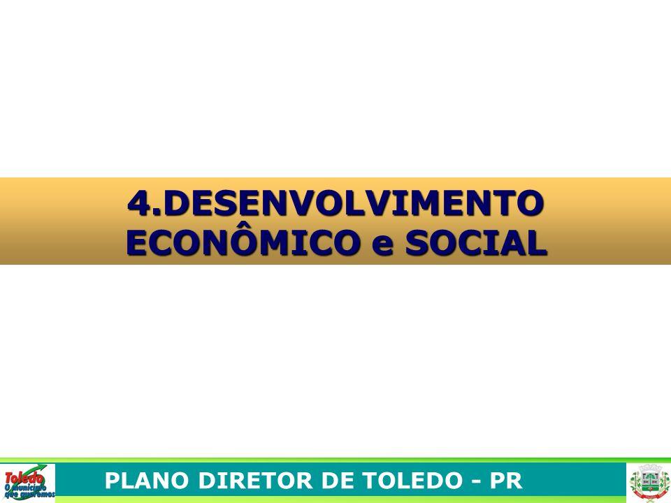 PLANO DIRETOR DE TOLEDO - PR 4.DESENVOLVIMENTO ECONÔMICO e SOCIAL