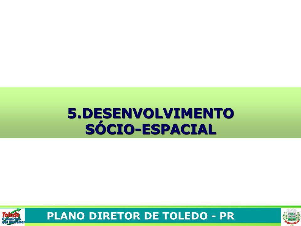 PLANO DIRETOR DE TOLEDO - PR 5.DESENVOLVIMENTOSÓCIO-ESPACIAL