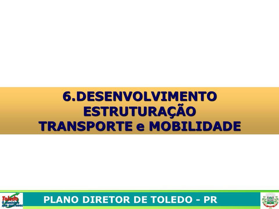 PLANO DIRETOR DE TOLEDO - PR 6.DESENVOLVIMENTO ESTRUTURAÇÃO TRANSPORTE e MOBILIDADE