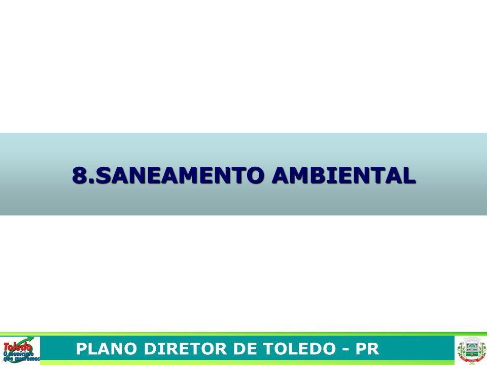 PLANO DIRETOR DE TOLEDO - PR 8.SANEAMENTO AMBIENTAL