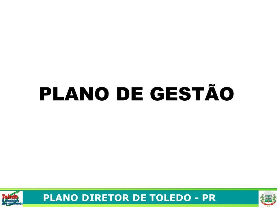 PLANO DIRETOR DE TOLEDO - PR PLANO DE GESTÃO