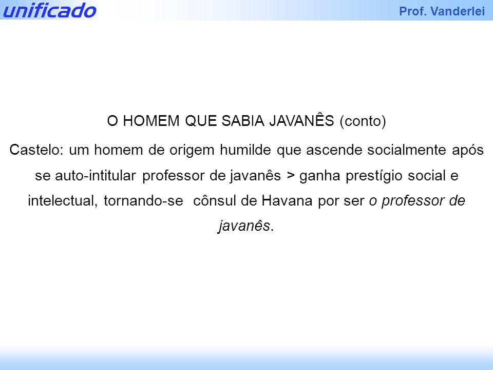 Iracema Prof.Vanderlei (UFRGS) Considere as afirmações abaixo, a respeito de Lima Barreto.