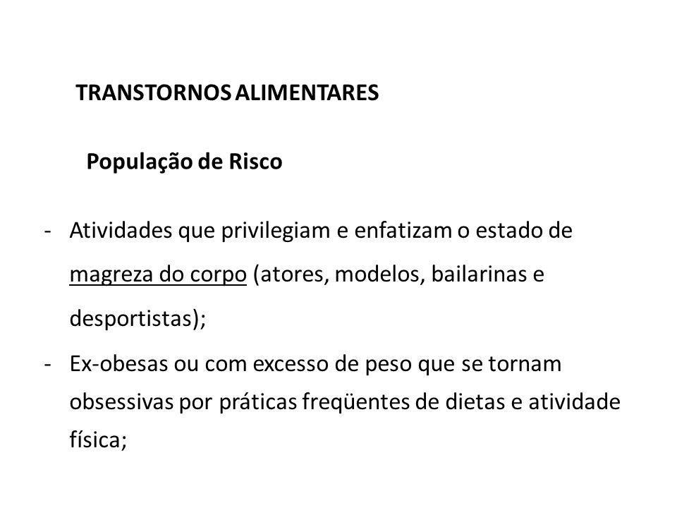 TRANSTORNOS ALIMENTARES APARELHO DIGESTIVO