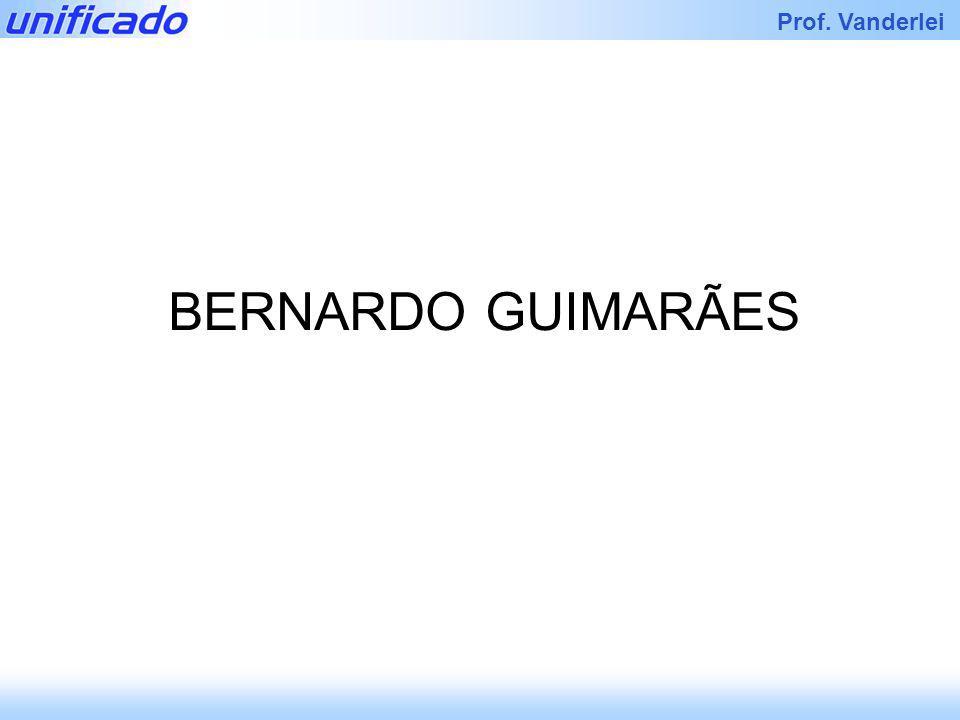 Iracema Prof. Vanderlei BERNARDO GUIMARÃES