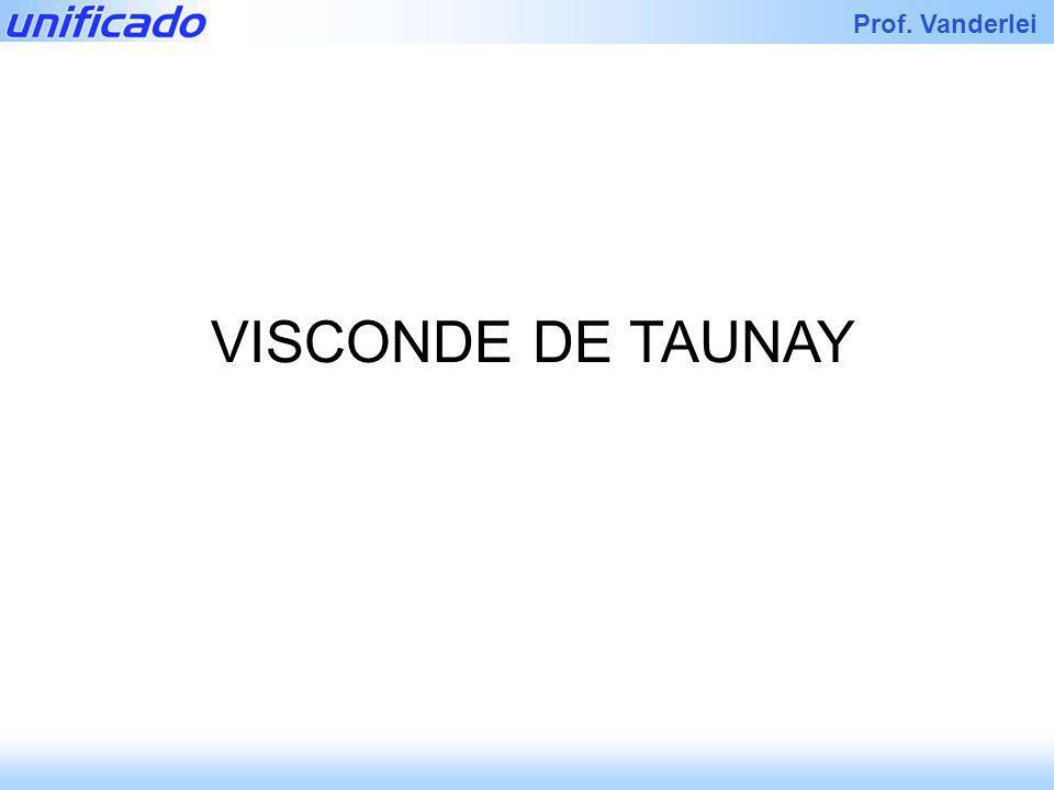 Iracema Prof. Vanderlei VISCONDE DE TAUNAY