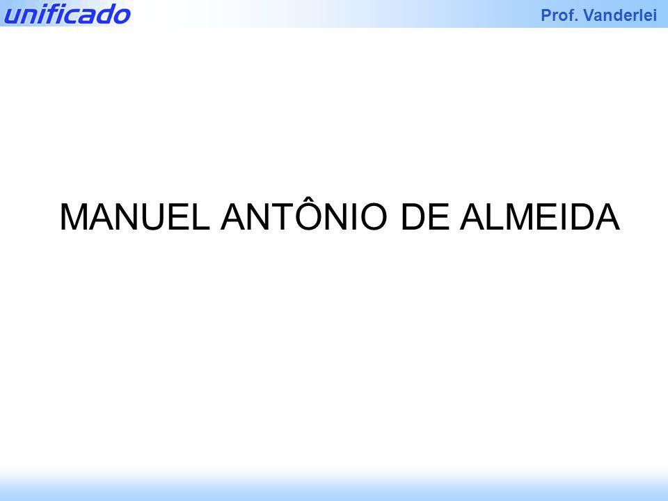Iracema Prof. Vanderlei MANUEL ANTÔNIO DE ALMEIDA