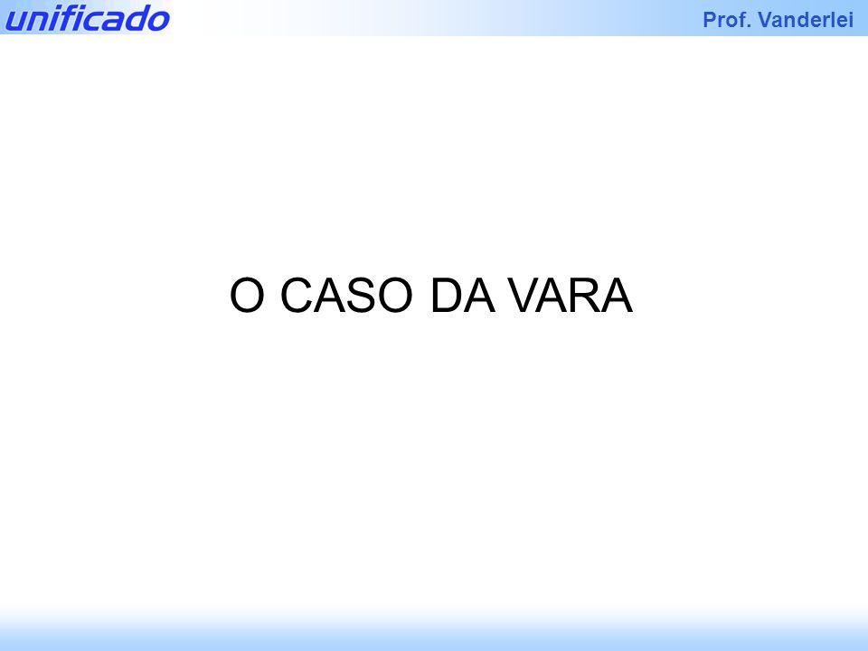 Iracema Prof. Vanderlei O CASO DA VARA