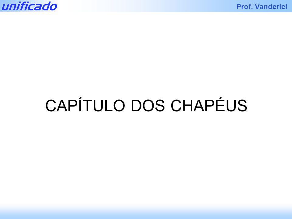 Iracema Prof. Vanderlei CAPÍTULO DOS CHAPÉUS