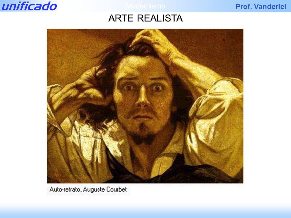 Prof. Vanderlei ARTE REALISTA Modernismo