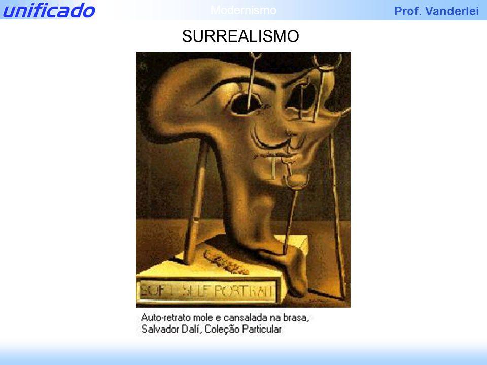 Prof. Vanderlei SURREALISMO Modernismo