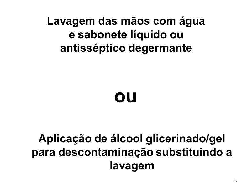 22/1/20146 Regiões de maior concentração bacteriana Por isto: unhas curtas e ausência de anéis
