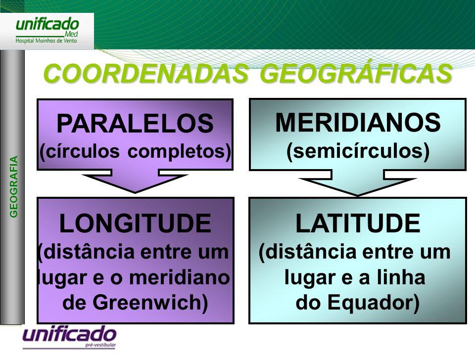 Clique para editar os estilos do texto mestre Segundo nível Terceiro nível Quarto nível Quinto nível 2 GEOGRAFIA COORDENADAS GEOGRÁFICAS PARALELOS (cí