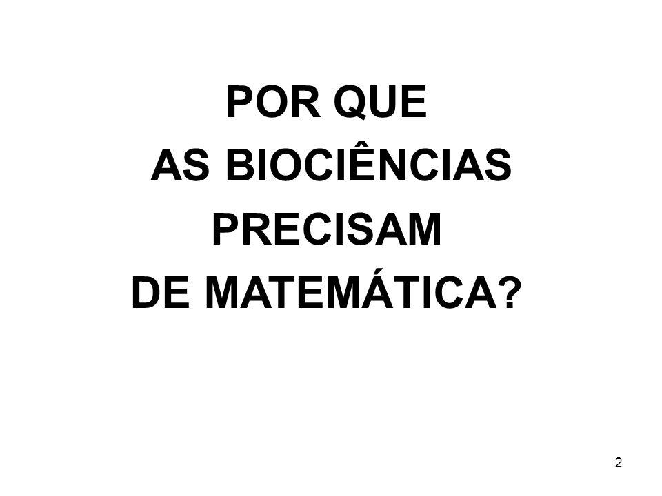3 O livro da natureza é escrito na língua da Matemática Galileo (1564-1642) Aqueles que querem analisar a natureza sem usar Matemática devem se contentar com uma compreensão reduzida Richard Feynman, (1918-1988) ( People who wish to analyze nature without using mathematics must settle for a reduced understanding )