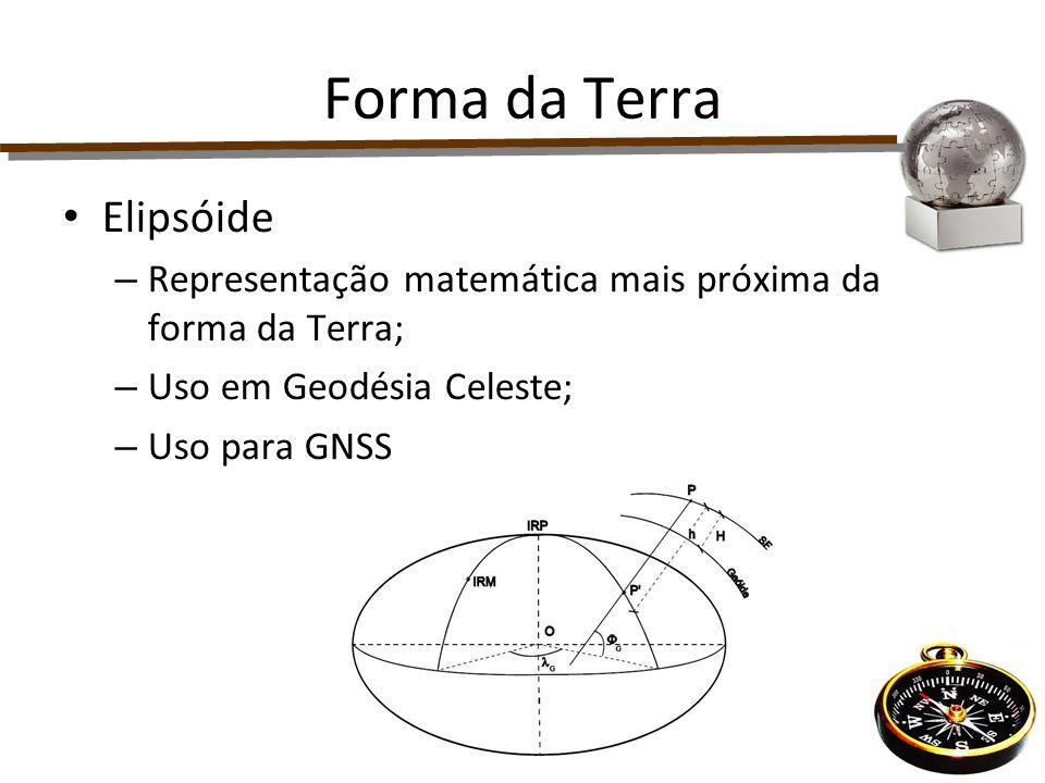 Sistema de coordenadas planoretangulares: Eixo N - coincide com a projeção do Meridiano Central do fuso Eixo E - com o do Equador.
