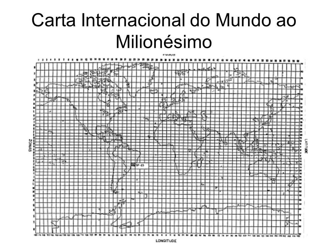 Carta Internacional do Mundo ao Milionésimo