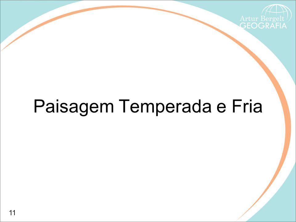 Paisagem Temperada e Fria 11