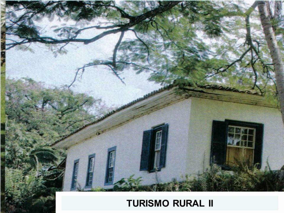 Turismo Rural (TR)/Turismo no Espaço Rural (TER) Atividade de turismo no espaço rural relacionadas ou não a tradição rural TE R TR Atividade relacionada a tradição rural