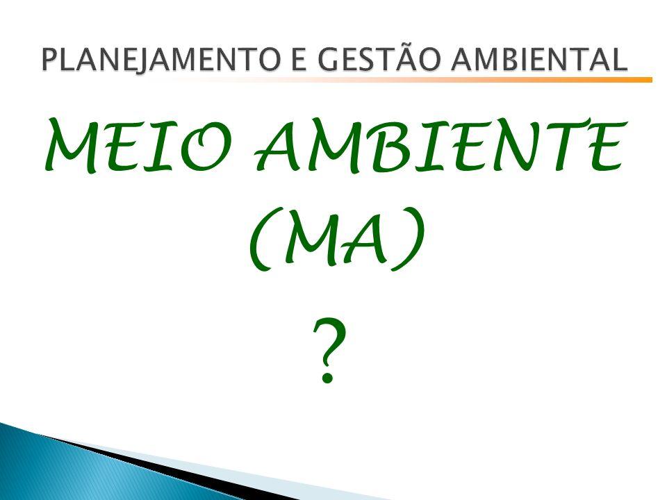 MEIO AMBIENTE (MA) ?