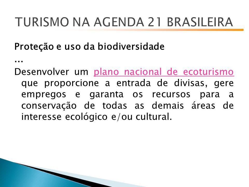 Proteção e uso da biodiversidade...