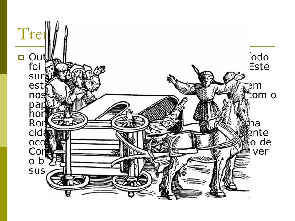 Trem dianteiro giratório Outra inovação técnica que surgiu neste período foi a introdução do trem dianteiro giratório. Este surge a princípio timidame