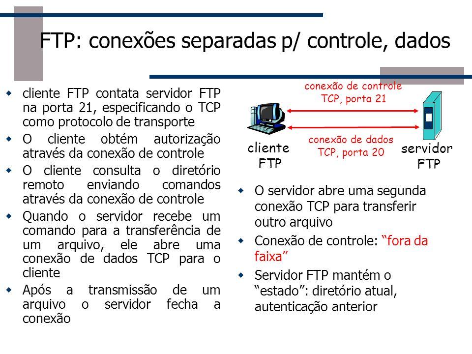 FTP O servidor de FTP mais usado no Linux é o Proftpd, incluído em quase todas as distribuições.