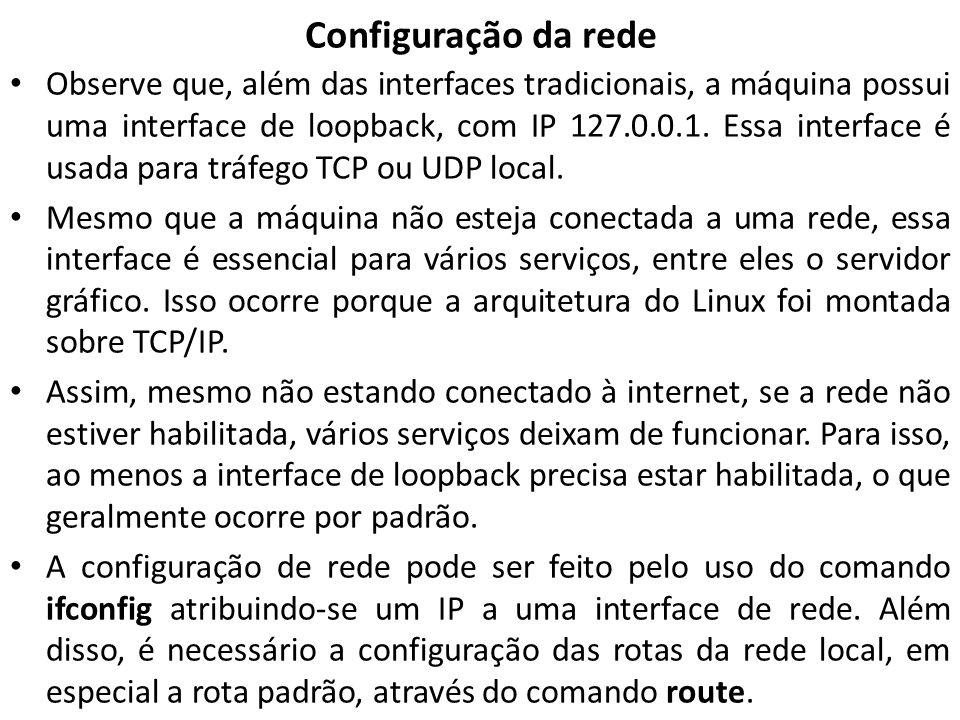 Configuração de rede no WINDOWS -Para ver o endereço MAC da placa de rede e algumas informações adicionais sobre a configuração de rede, é possível usar o parâmetro /all após o ipconfig para visualizá-las.