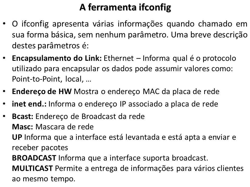 Ferramentas de Rede - PING -O utilitário ping envia uma requisição ECHO ICMP e mede o tempo de resposta.