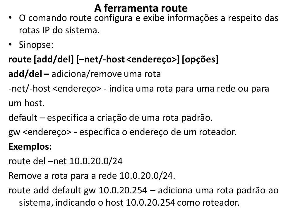 Comando NSLOOKUP – O nslookup é uma ferramenta, comum ao Windows e ao Linux, utilizada para se obter resoluções de nomes DNS.