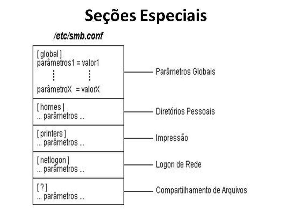 Seções Especiais
