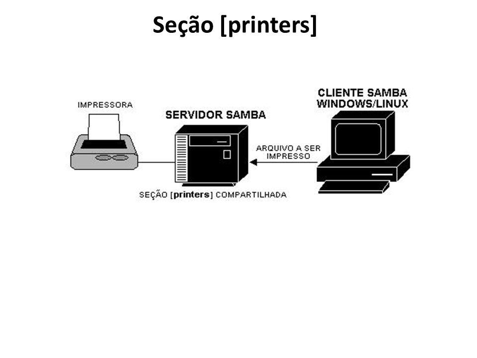 Seção [printers]