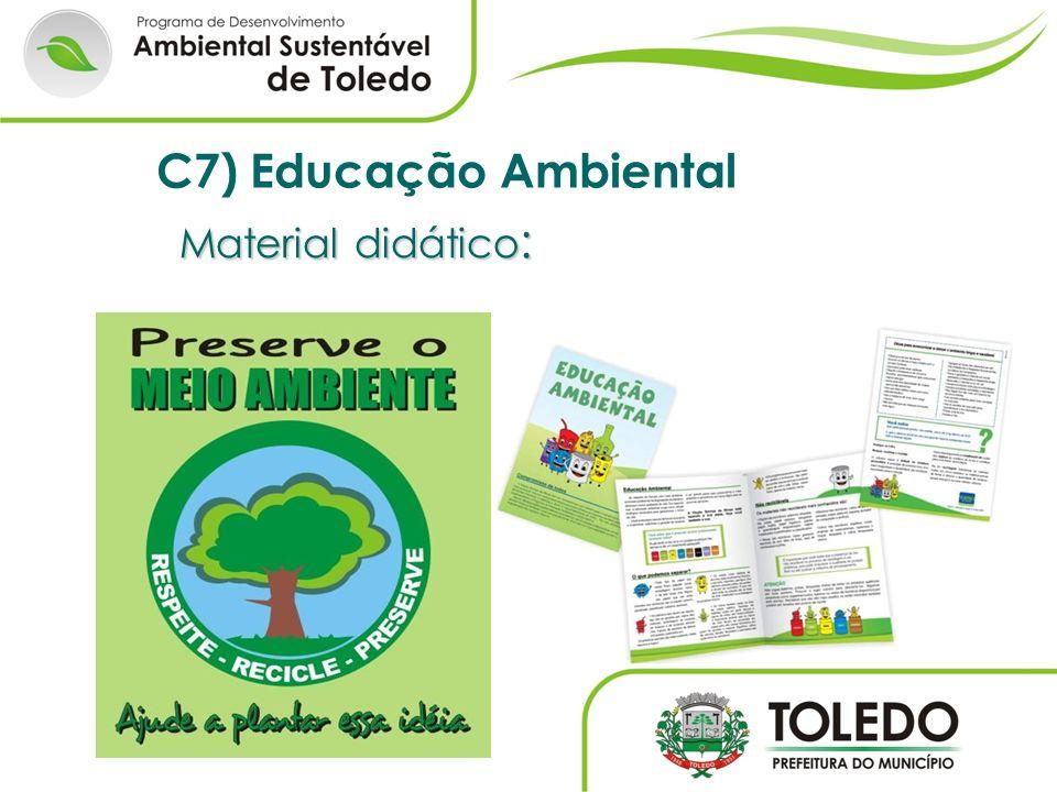 Material didático : C7) Educação Ambiental