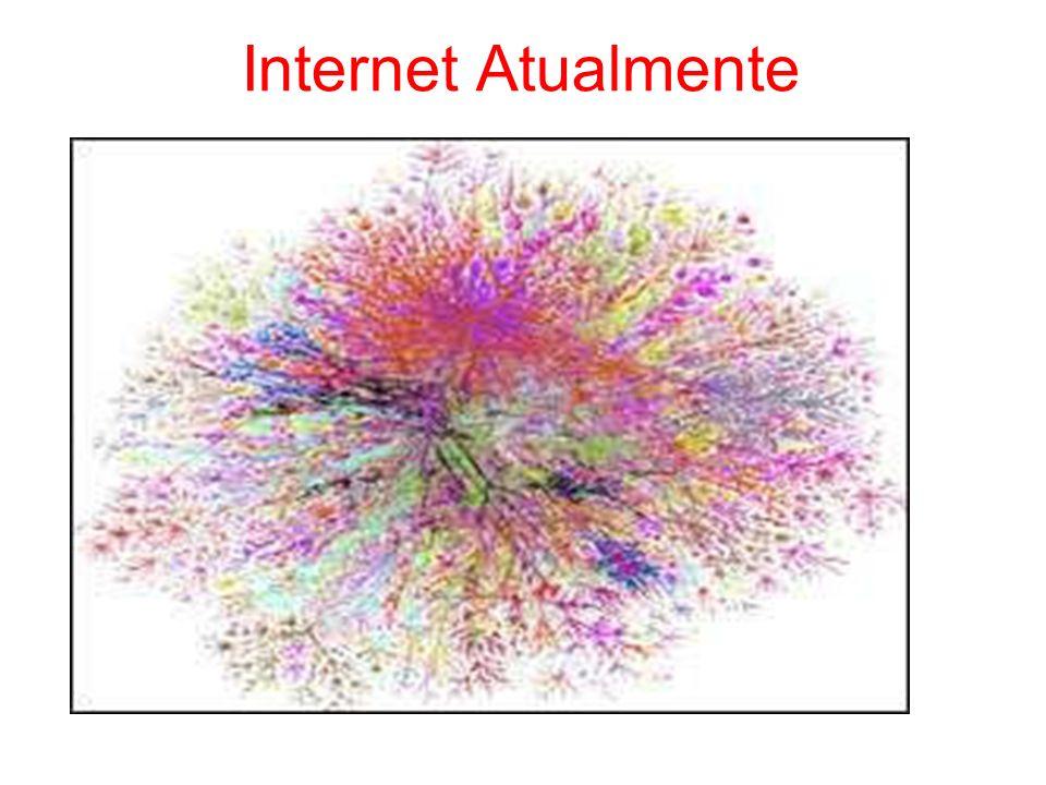 Como chegamos à este ponto? Ponto de ruptura: WWW no início dos anos 90 Uso comercial da Internet
