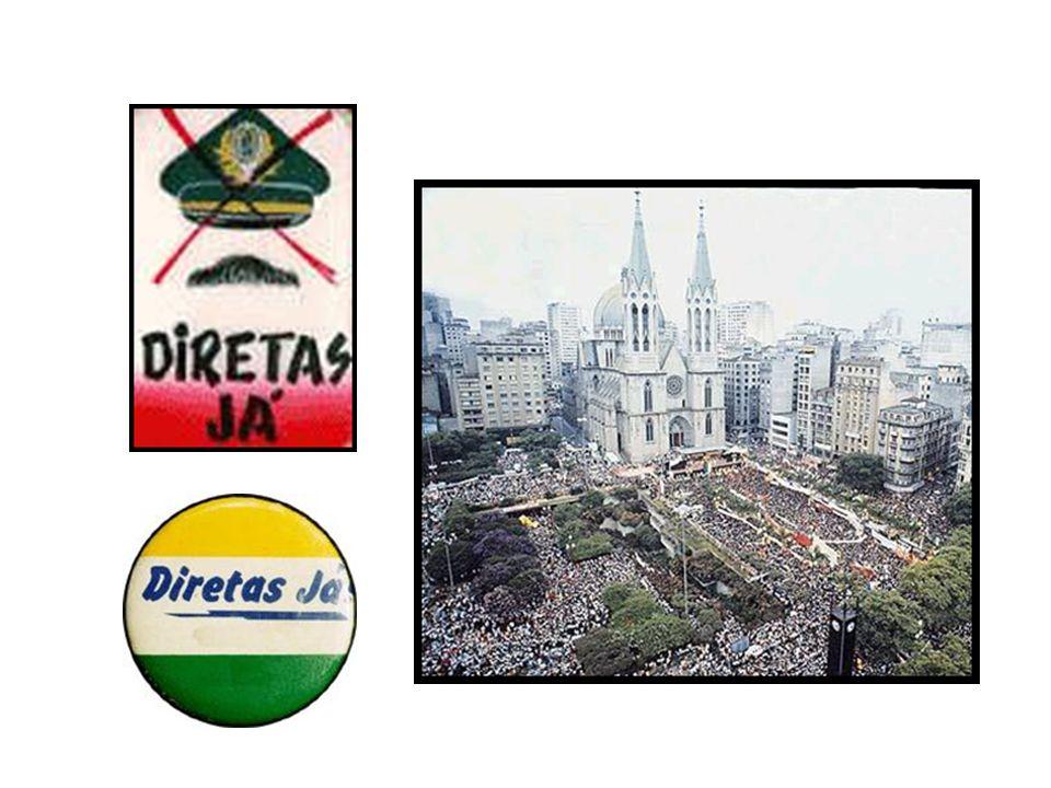 BRASIL REPÚBLICA (1889 – ) ANOS 80 - DÉCADA PERDIDA