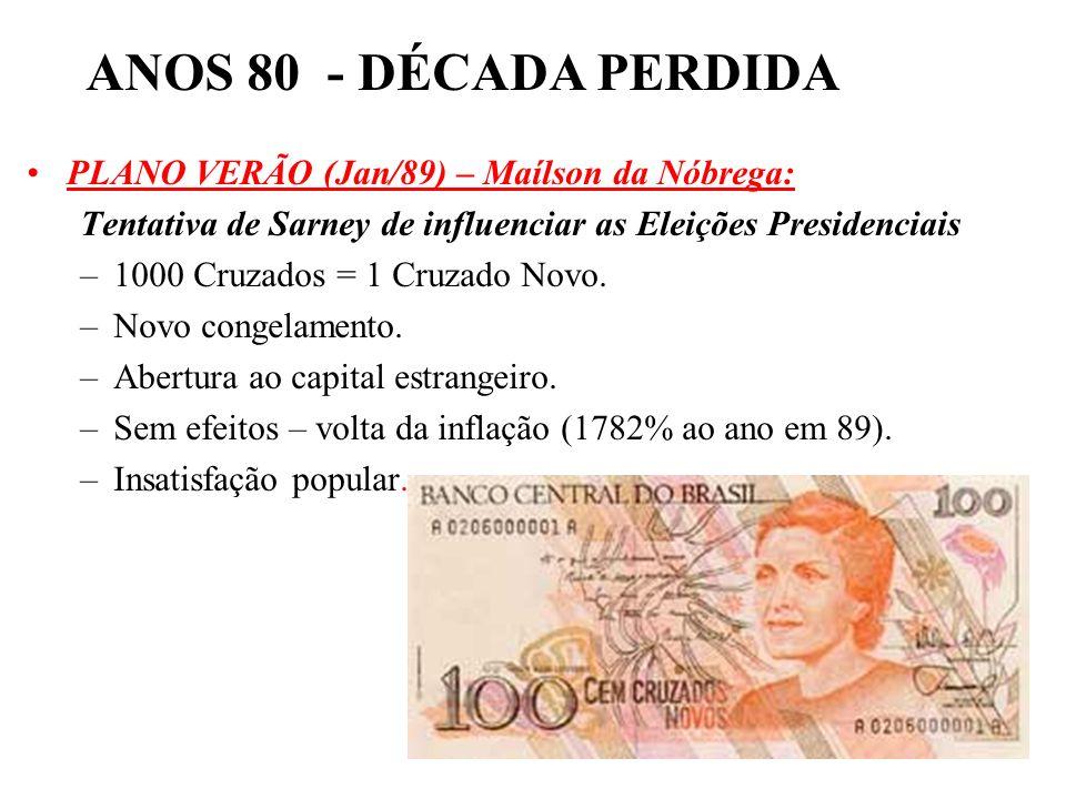 BRASIL REPÚBLICA (1889 – ) –Habeas Corpus. –Habeas Data –Liberdade Partidária –Criação do estado do Tocantins –Fim da censura. –Direito de greve. –Fér