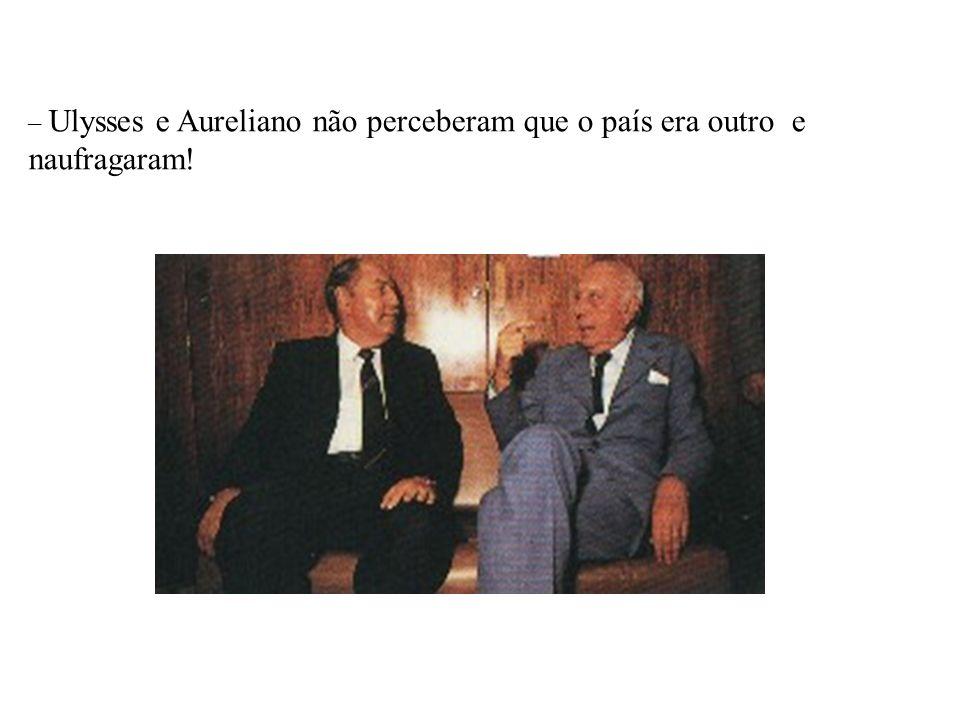 BRASIL REPÚBLICA (1889 – ) – Enéas -PRONA – Silvio Santos ANOS 80 - DÉCADA PERDIDA –A sucessão de Sarney: Pesquisas indicam a preferência pelo Candida