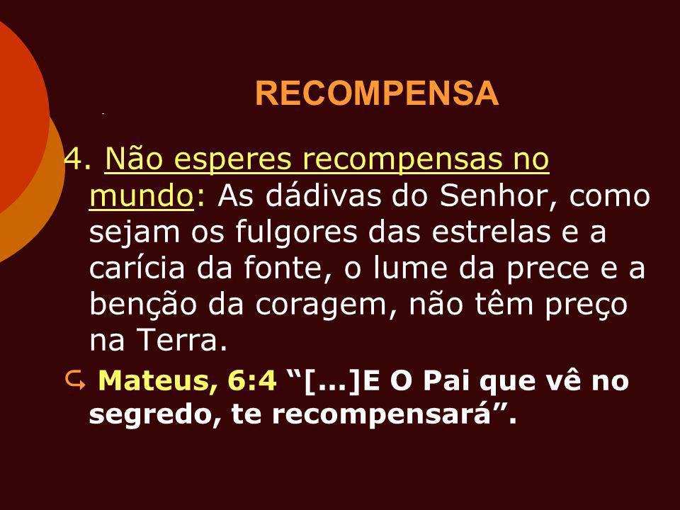 RECOMPENSA 4.