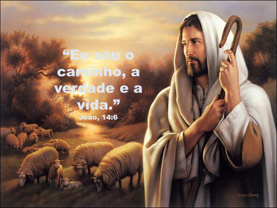 Eu sou o caminho, a verdade e a vida. João, 14:6