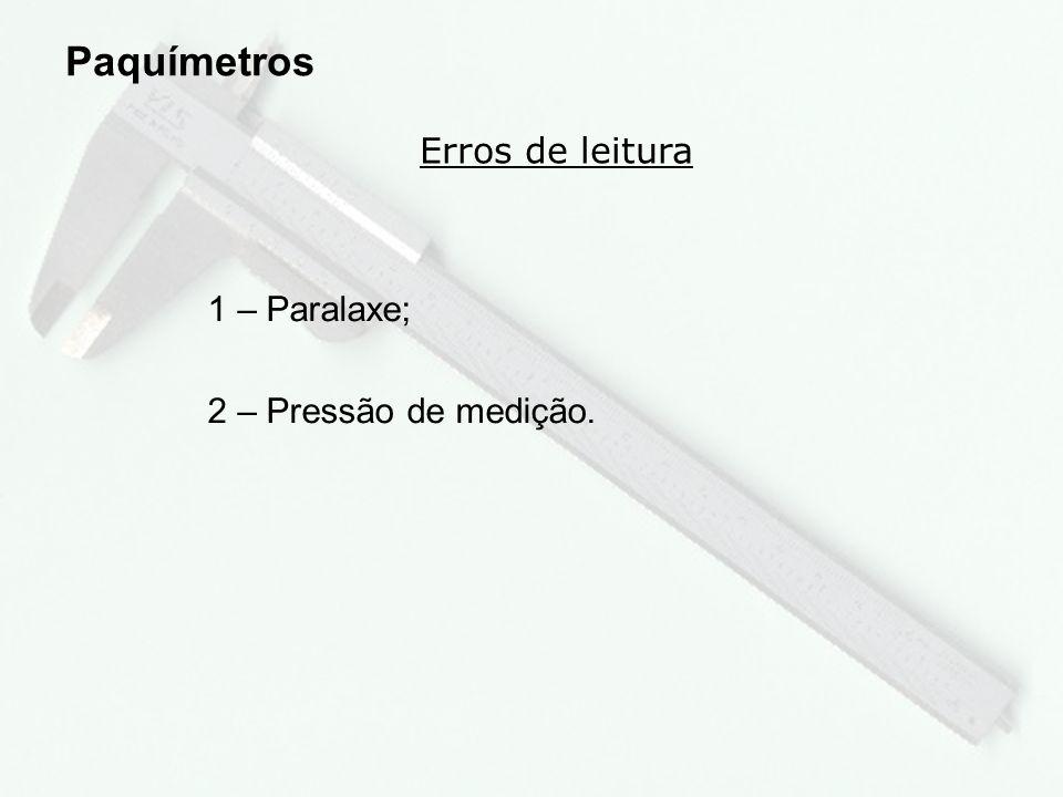 5 Principais partes do paquímetro Paquímetros