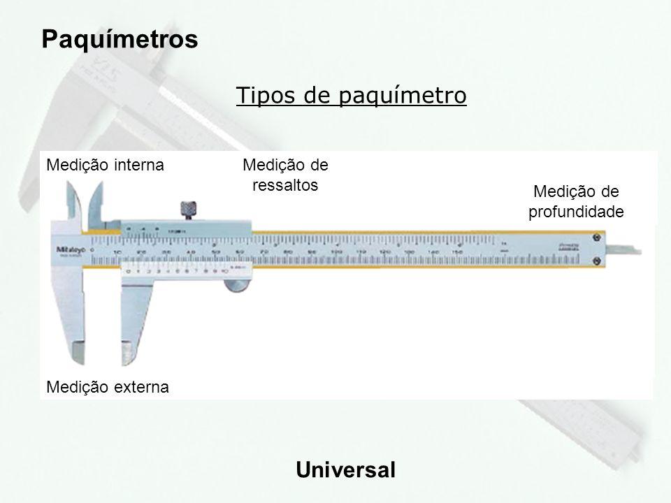7 Tipos de paquímetro Paquímetros de Profundidade