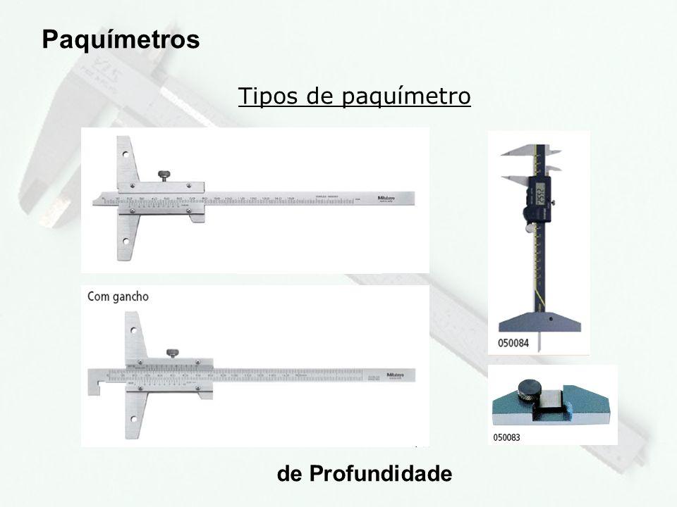 8 Tipos de paquímetro Paquímetros com bico móvel